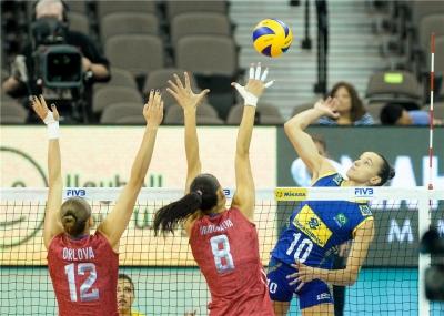 Brasil é superado pela Rússia na fase final