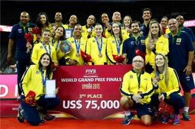 Brasil vence a Itália e garante a medalha de bronze